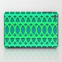 Aqua/Green One iPad Case