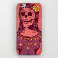Retrato - (Untold Method) iPhone & iPod Skin