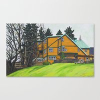 Lake Pointe Inn Canvas Print