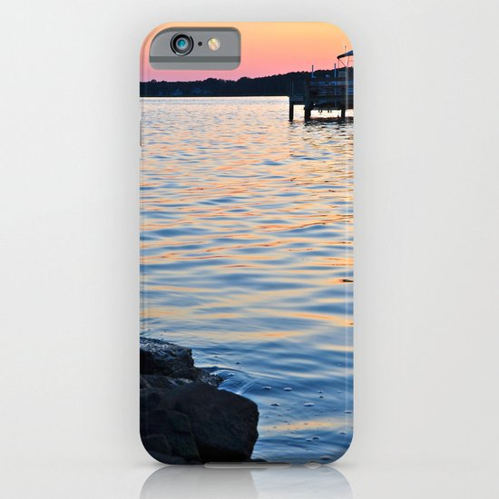 Sunset on the Bay iPhone & iPod Case
