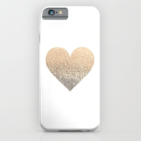 GOLD HEART iPhone & iPod Case