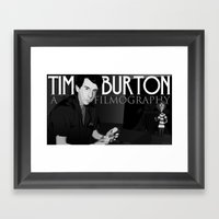 Tim Burton Young Framed Art Print