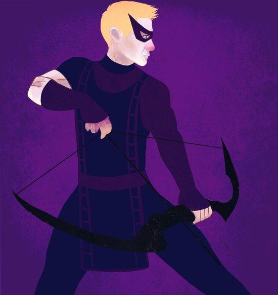 Hawkeye Art Print