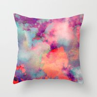 Untitled 20110625p (Clou… Throw Pillow