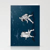 Fencing At A Higher Leve… Stationery Cards