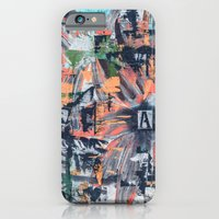 iPhone & iPod Case featuring Floral Inversion  by Bruce Stanfield