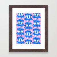 Bold Eyes II Framed Art Print