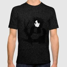 Scissorhands Mens Fitted Tee Tri-Black SMALL