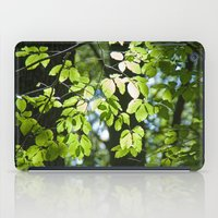 Light in the leaves iPad Case
