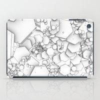 Hexagons iPad Case