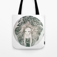 Keyhole In The Jungle Tote Bag