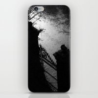 A Dark Winter Night iPhone & iPod Skin