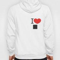 I LOVE PIXELS / PICTOGRA… Hoody