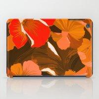 Donna's Autumn Woodcut iPad Case