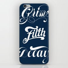 Grimey Type. iPhone & iPod Skin