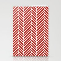 Herringbone Candy Stationery Cards