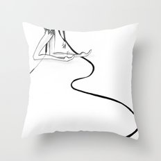 Rhythmic  Throw Pillow