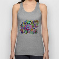 Can you spot the faces? Unisex Tank Top