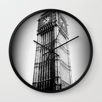 Ben Looms In Black And W… Wall Clock