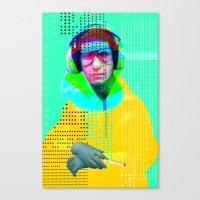 Gioconda Music Project · Beastie Boys · Mike D. Canvas Print
