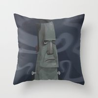 Dr. Frankensteins Monste… Throw Pillow