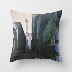 shining spire... Throw Pillow