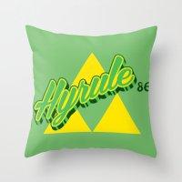 Hyrule Throw Pillow