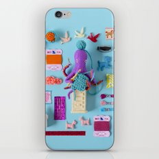 Miniature Collage: Crafting iPhone & iPod Skin