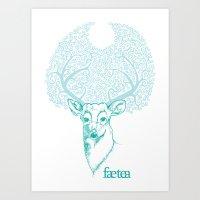 Dear Hart Art Print