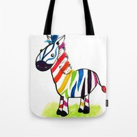 Colorful Zed Tote Bag