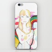 La Fille De Siren iPhone & iPod Skin
