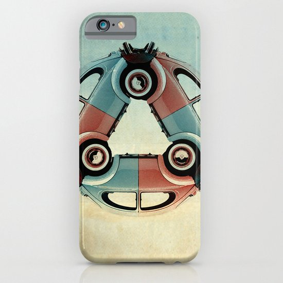back end triangle - VW beetle iPhone & iPod Case