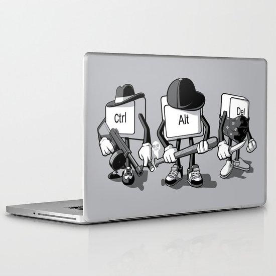 Computer Mafia Laptop & iPad Skin