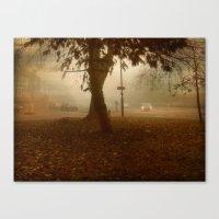 Urban Fog. Canvas Print