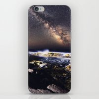 Infinite Fireworks iPhone & iPod Skin