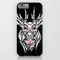 iPhone & iPod Case featuring Mother nature deer by dominantdinosaur