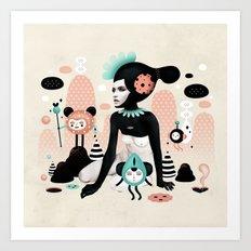 Kobana - Muxxi X Ruben I… Art Print