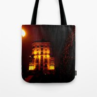 Night Crest 6 Tote Bag