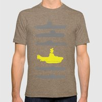Know Your Submarines V2 Mens Fitted Tee Tri-Coffee SMALL