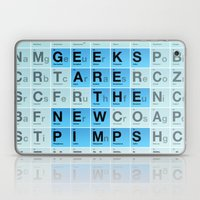 Geeks are the New Pimps Laptop & iPad Skin