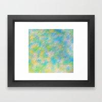 Era Pixel Framed Art Print