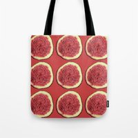 Tote Bag featuring fig by Panic Junkie