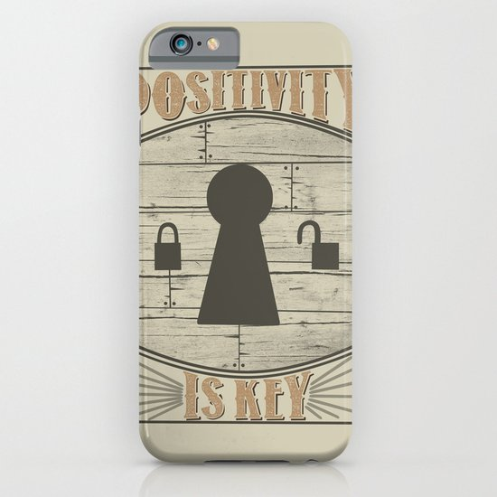 Positivity Is Key v.2 iPhone & iPod Case