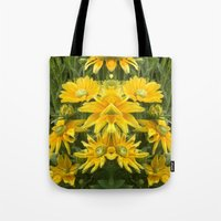 Duck Billed Dahlia Tote Bag