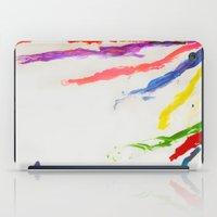 Rainbow of color iPad Case