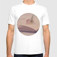 Calla Lily and Book Mens Fitted Tee White SMALL