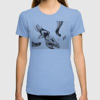 HMS Victory  Womens Fitted Tee Athletic Blue SMALL