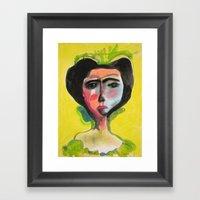 Cameo #1 Framed Art Print