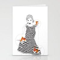 Blowfish #1 Stationery Cards