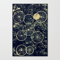 Tire - less Canvas Print